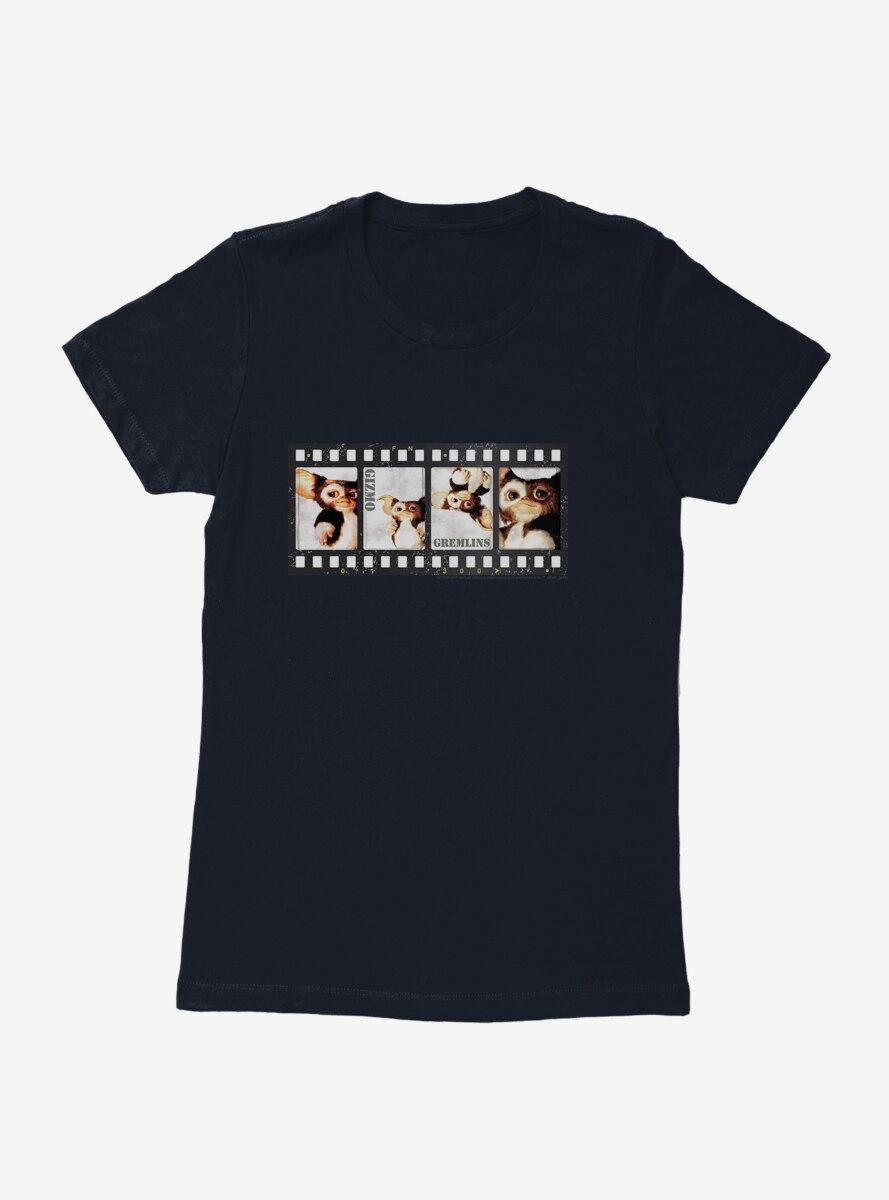 Gremlins Gizmo Film Strip Womens T-Shirt