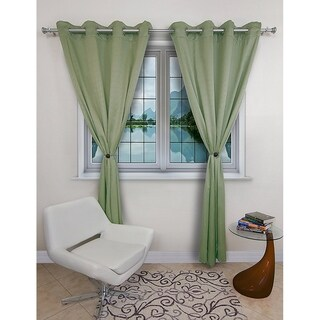 Magnaclips Leno Curtain Clips, Tiebacks, or holdbacks Set of 2 | No Tools Required (No Tools Required)