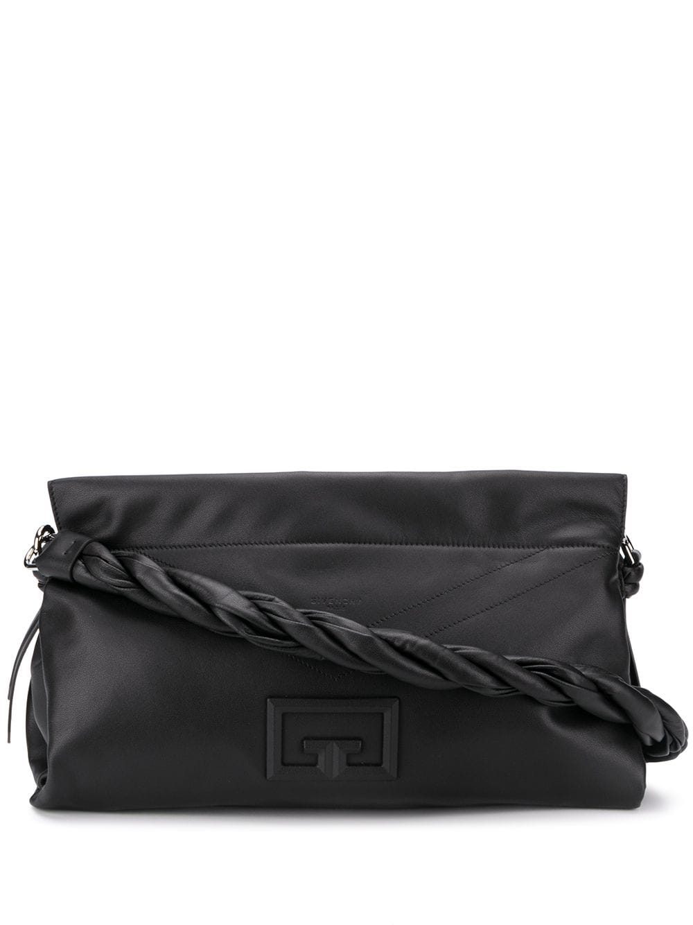 Id93 Large Leather Shoulder Bag