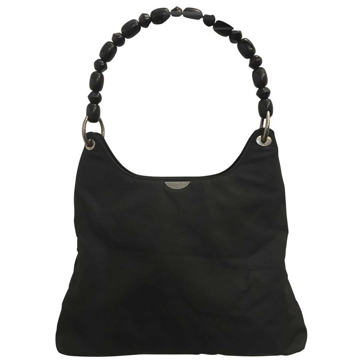 Dior \N Handtasche in  Schwarz Polyester