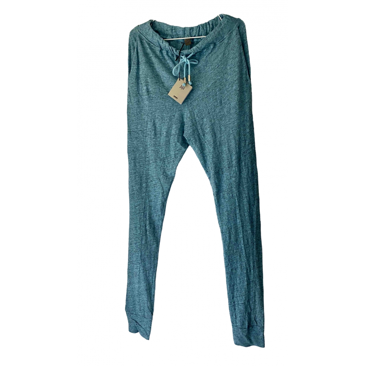 Jijil \N Cotton Trousers for Women 42 IT
