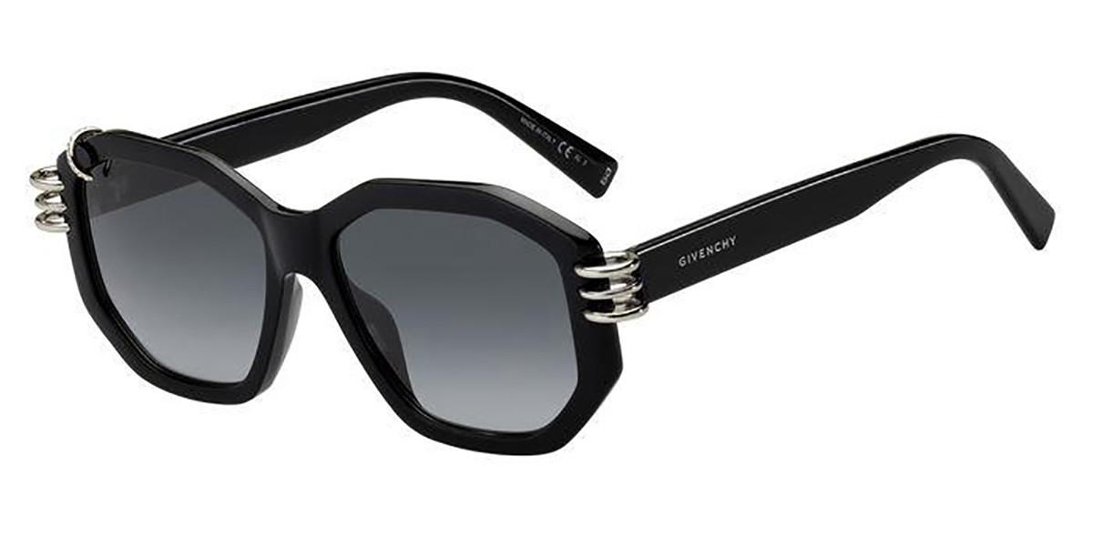 Givenchy GV 7175/G/S 807/9O Men's Sunglasses Black Size 54
