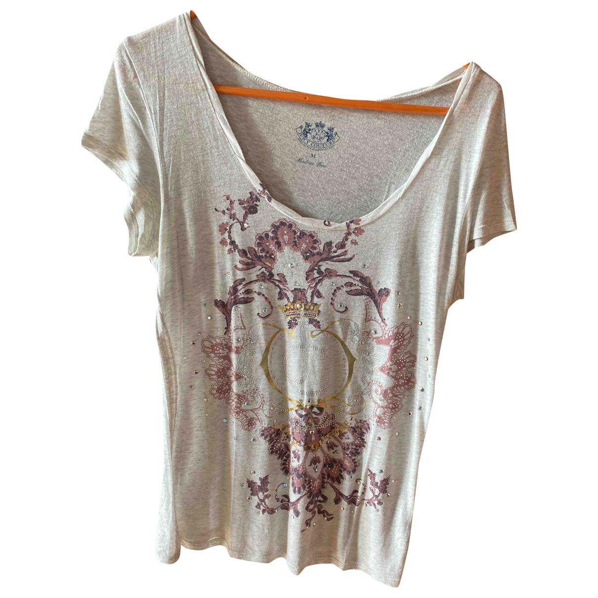 Juicy Couture - Top   pour femme en coton - gris