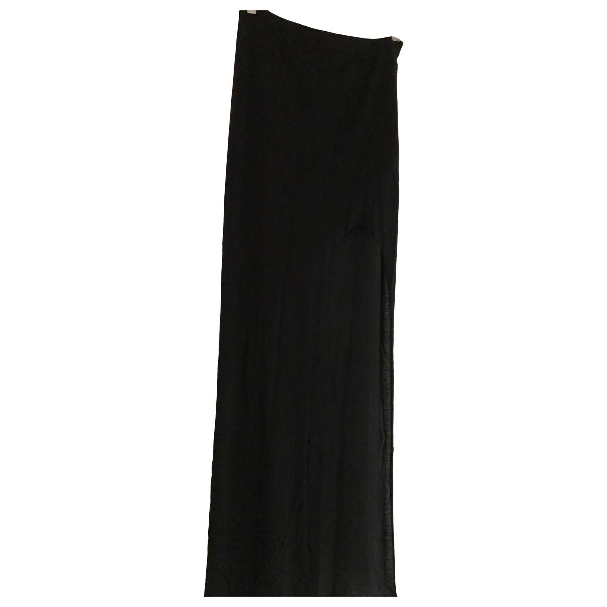 Falda maxi Helmut Lang