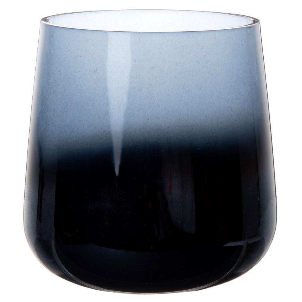Laempchen aus Rauchglas, blau