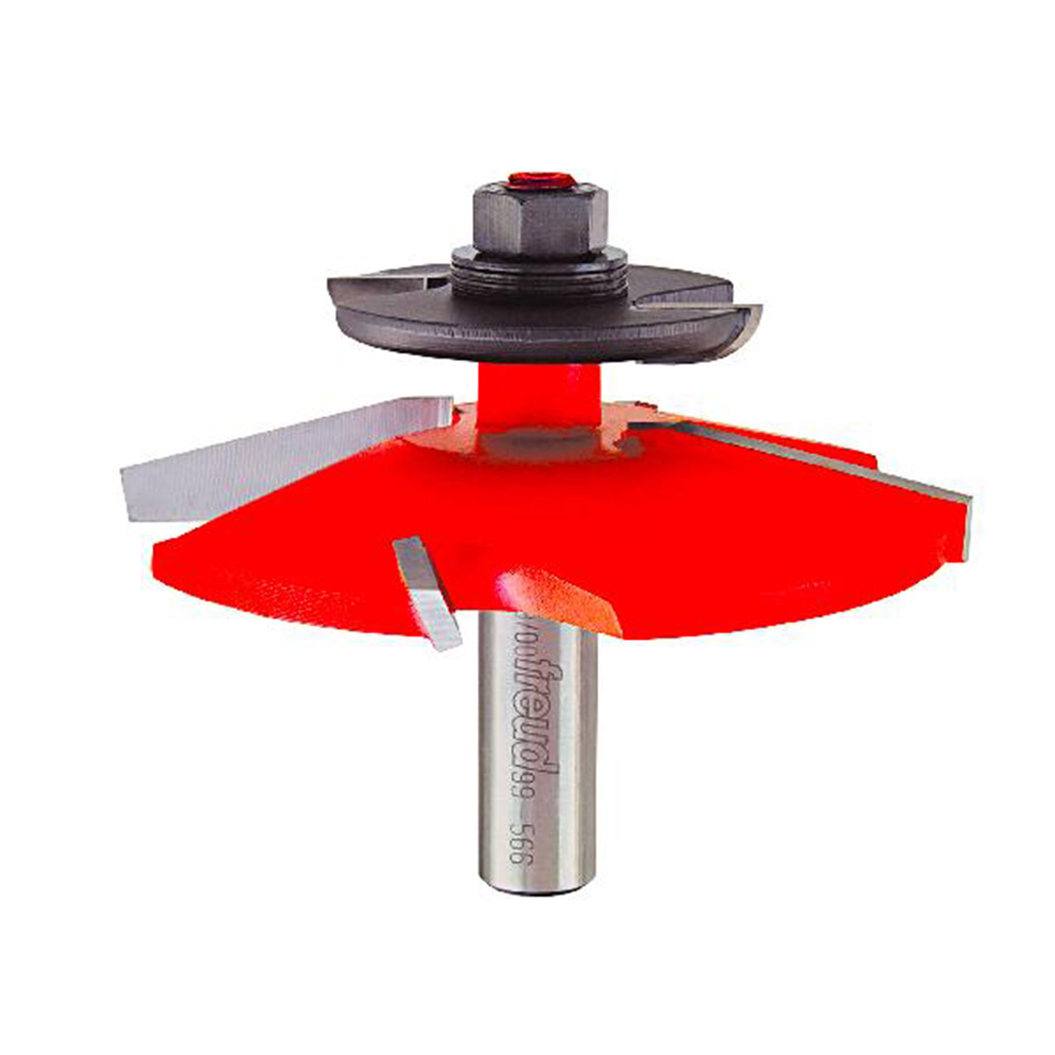 Raised Panel Router Bit  with Back-Cutter ,1/2