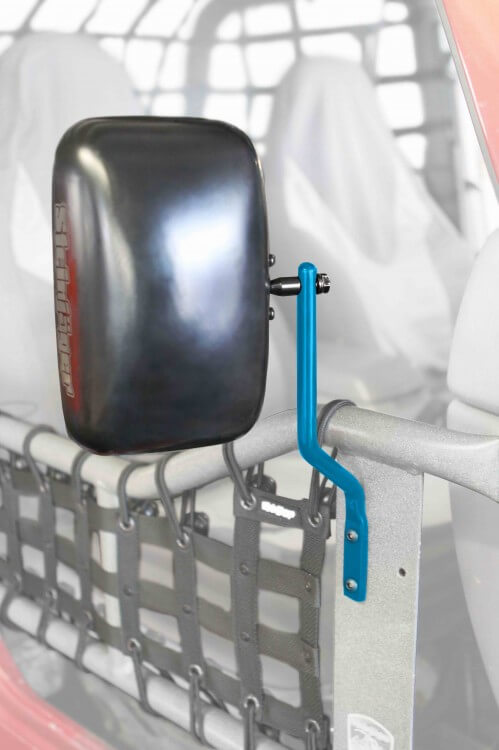 Steinjager J0043518 Mirror Kit, Tube Doors Wrangler TJ 1997-2006 Playboy Blue