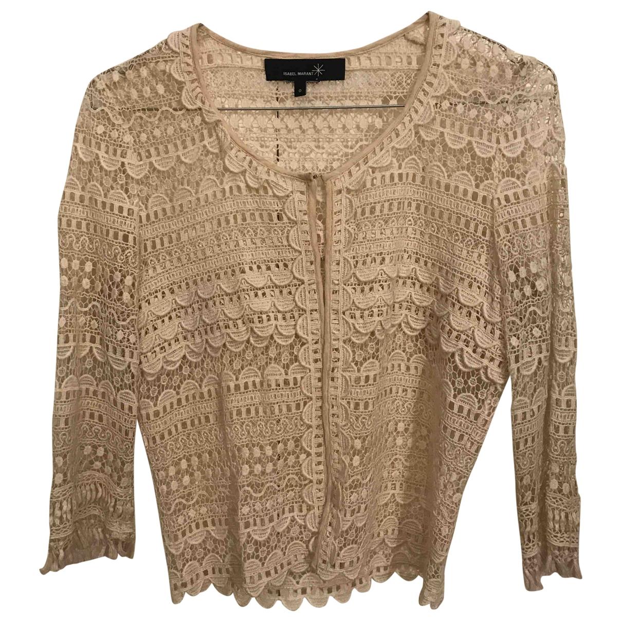Isabel Marant - Pull   pour femme en coton - beige