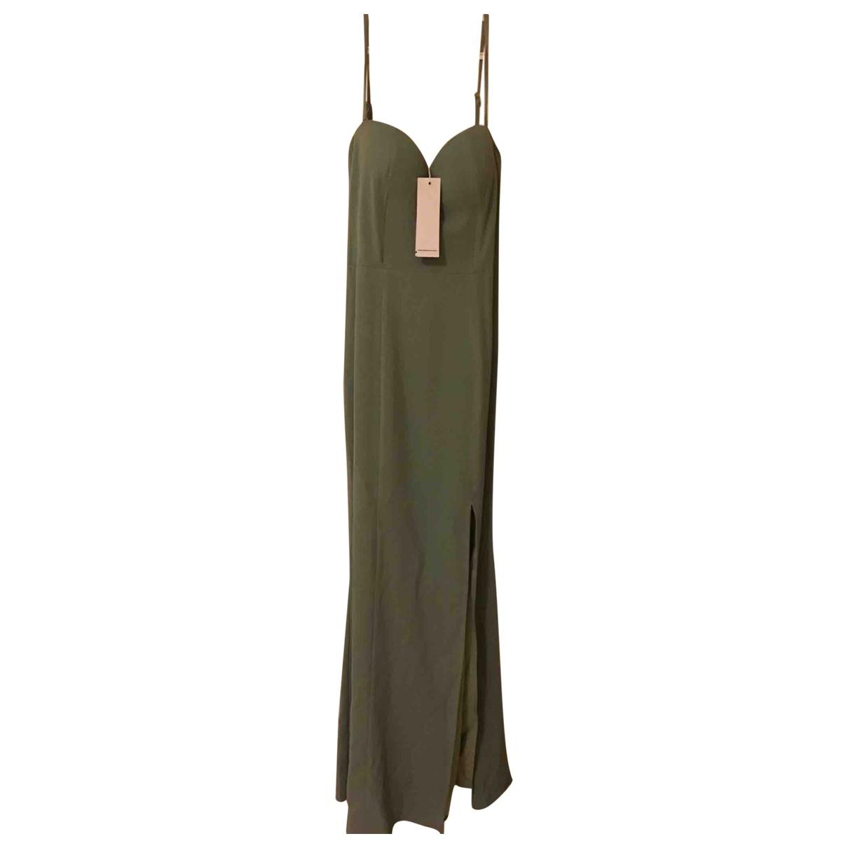 Australia Luxe \N Kleid in  Gruen Baumwolle