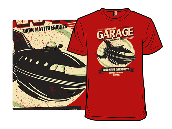 Farnsworth Garage T Shirt