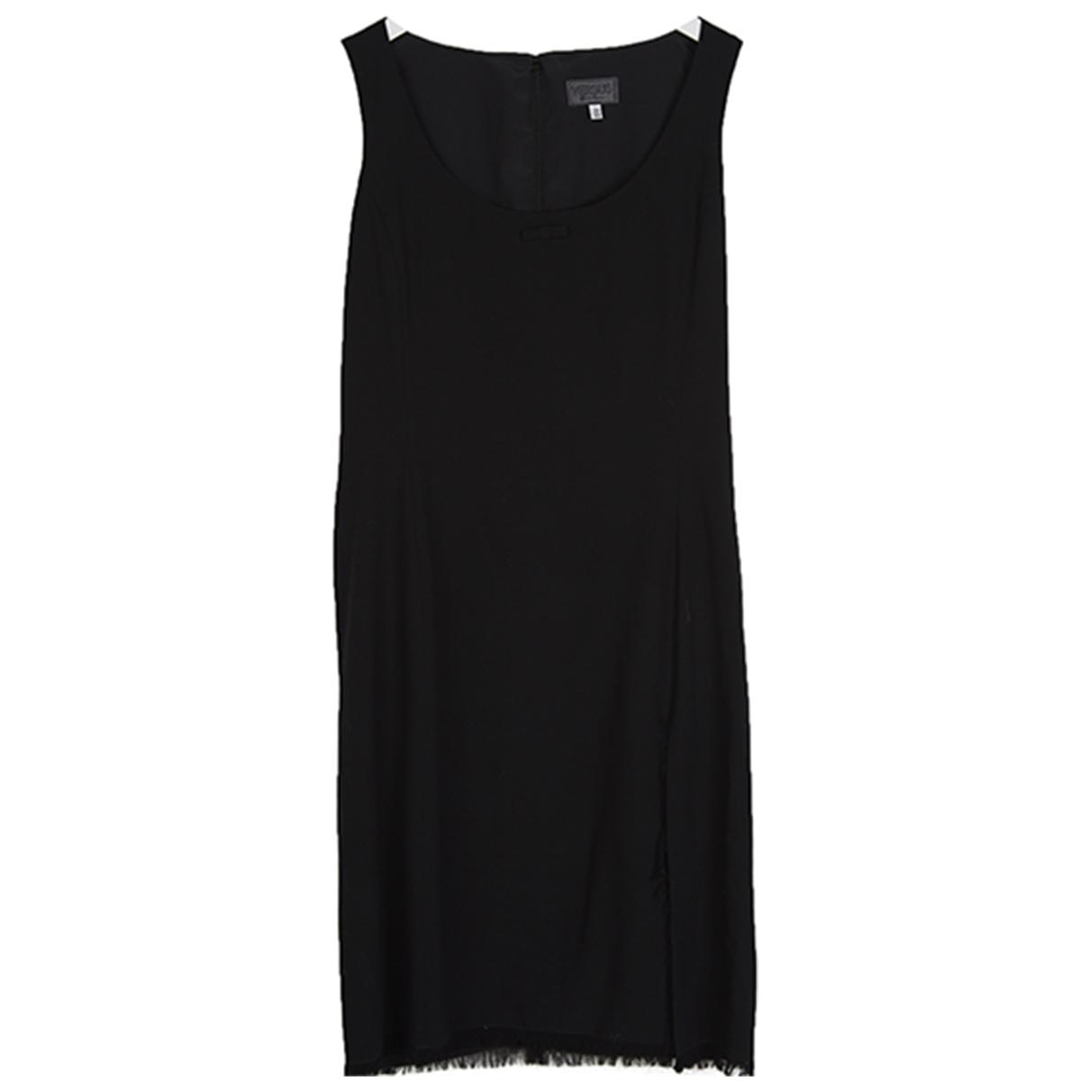 Versus - Robe   pour femme en laine - noir