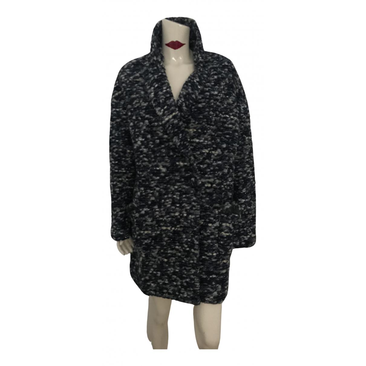 Blumarine N Blue coat for Women 44 IT