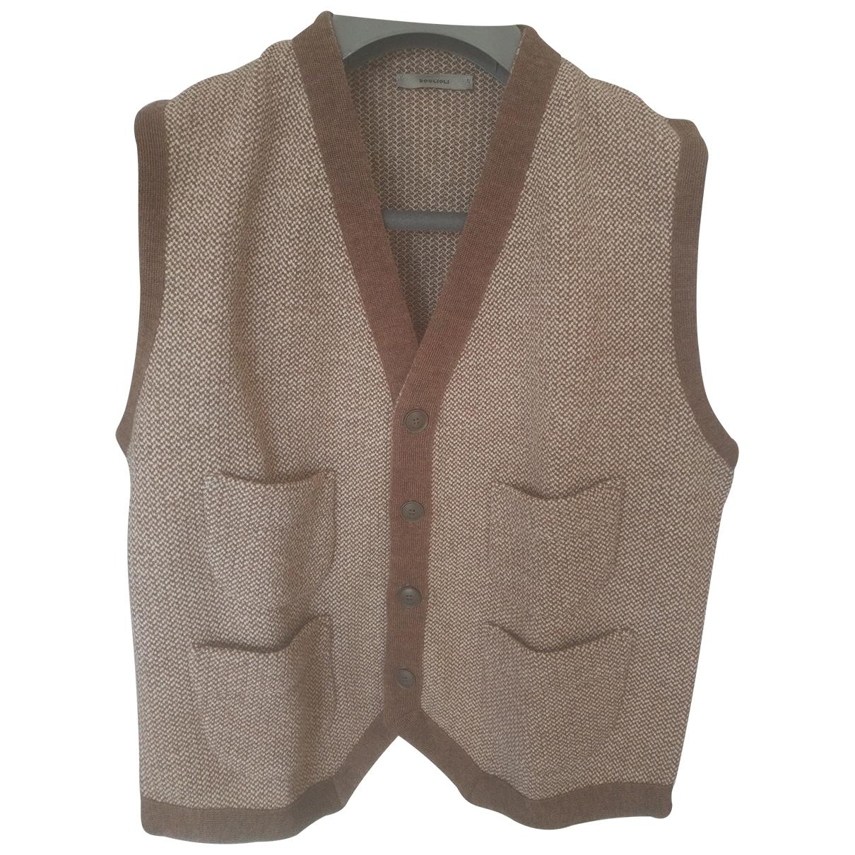 Boglioli \N Pullover.Westen.Sweatshirts  in  Braun Wolle