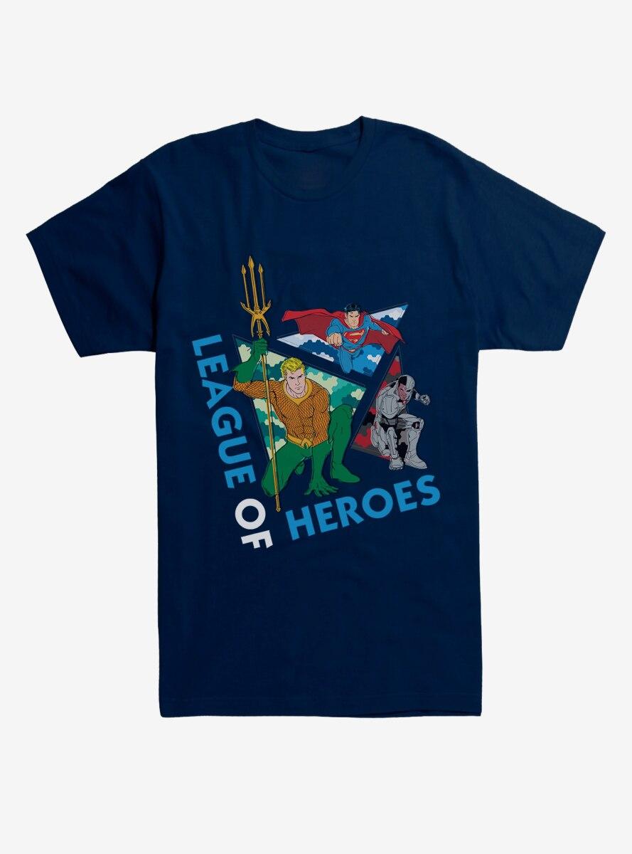 DC Comics Justice League League of Heroes T-Shirt