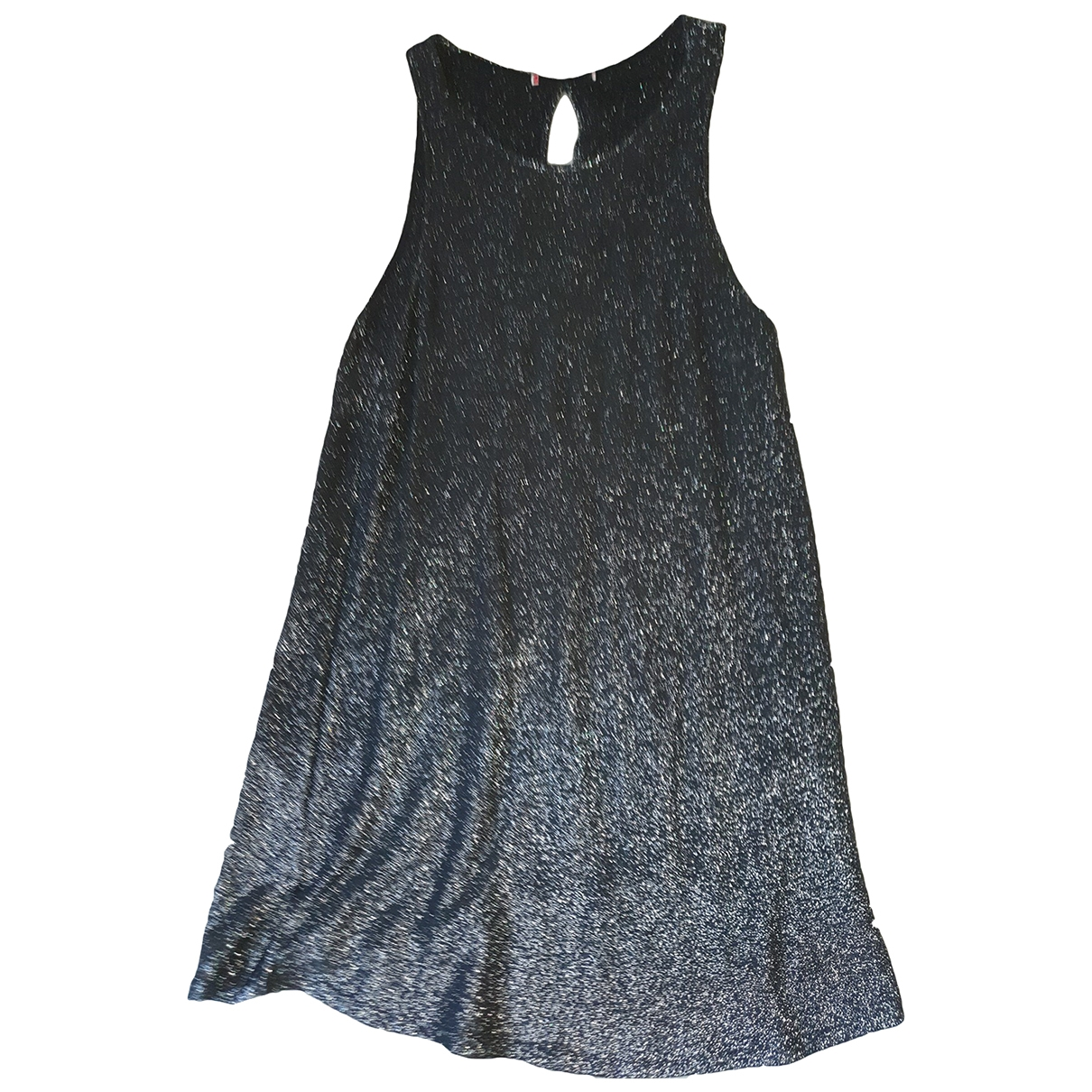Non Signé / Unsigned \N Grey dress for Women 40 FR