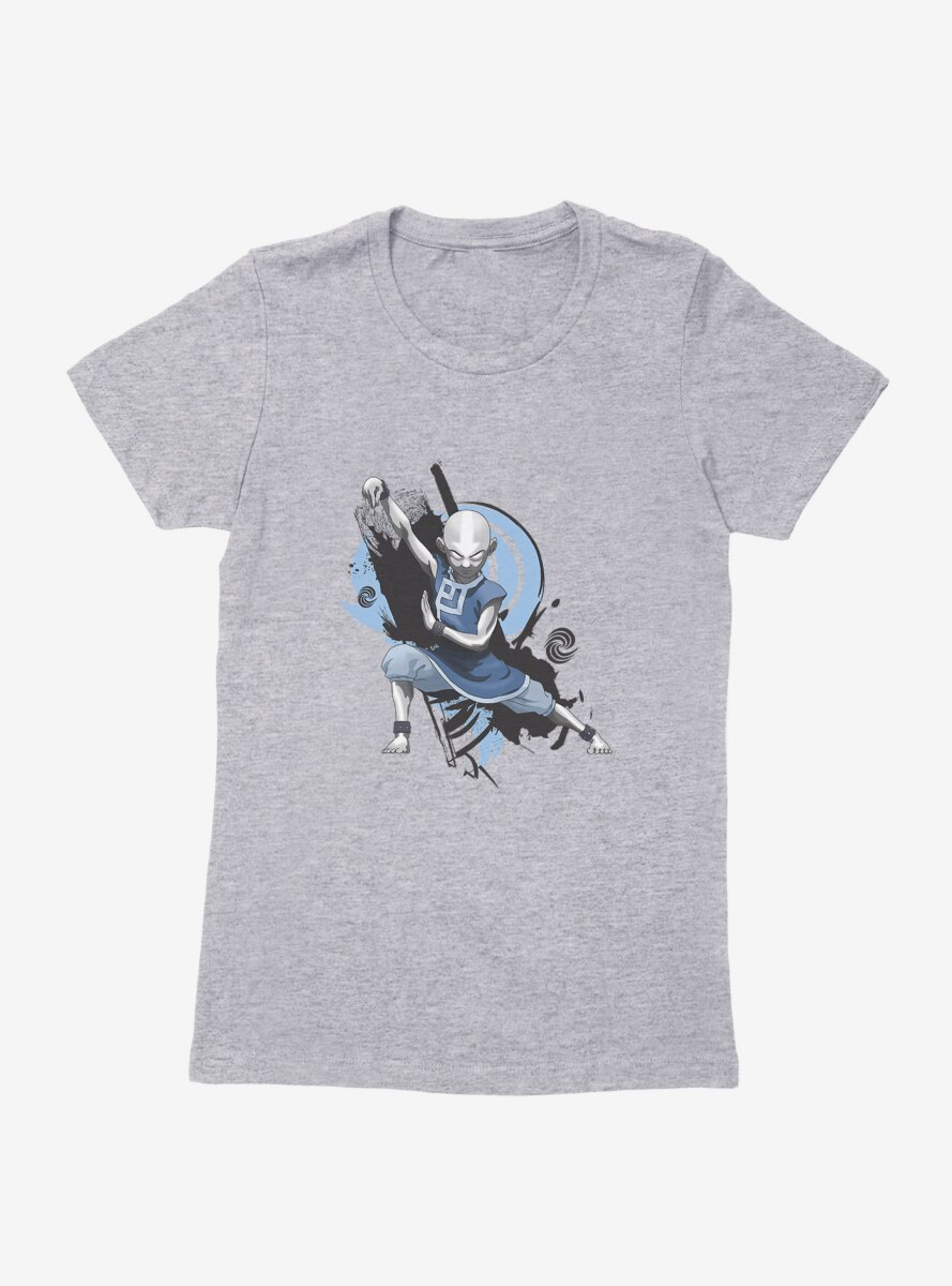 Avatar: The Last Airbender Avatar State Pose Womens T-Shirt