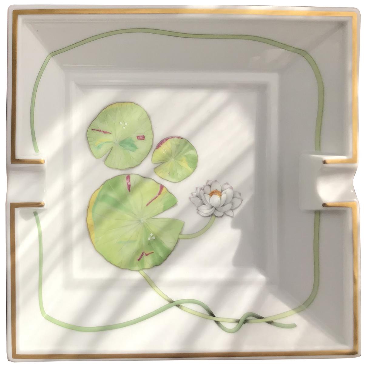 Hermes - Objets & Deco Nil pour lifestyle en porcelaine - blanc