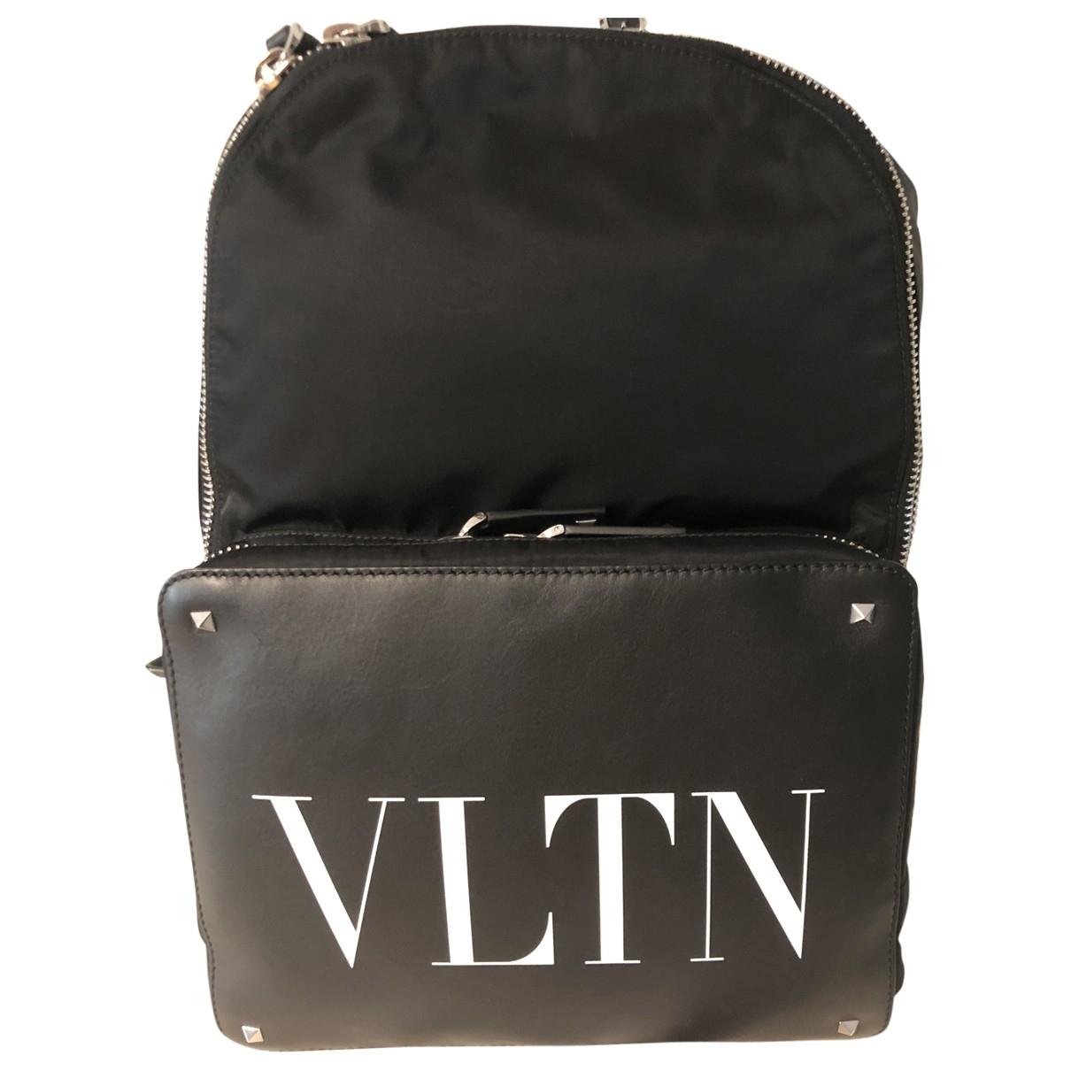 Valentino Garavani - Sac   pour homme en toile - noir