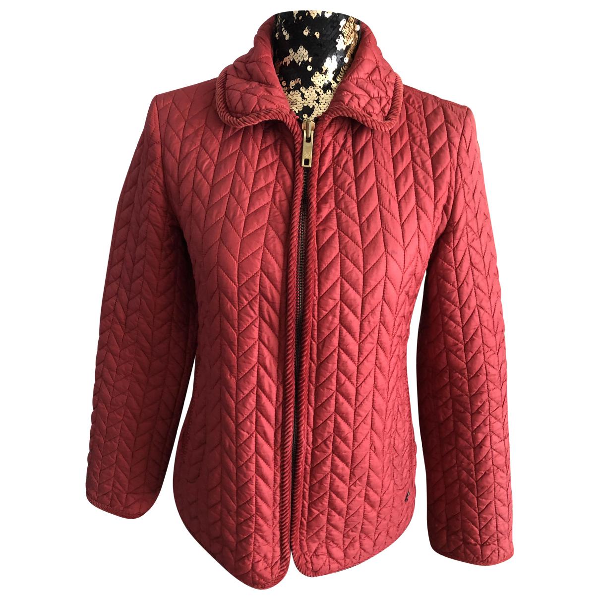 Burberry - Veste   pour femme - rouge
