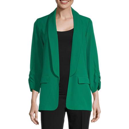 Worthington Womens Blazer, Petite Xx-large , Green