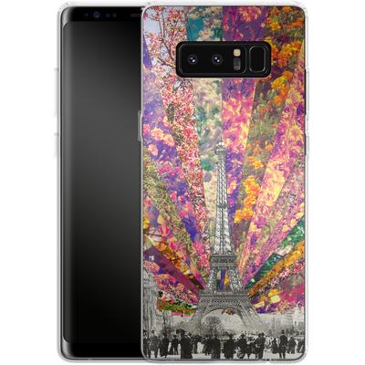 Samsung Galaxy Note 8 Silikon Handyhuelle - Vintage Paris von Bianca Green