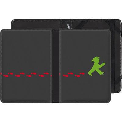 Pocketbook Touch Lux 2 eBook Reader Huelle - AMPELMANN Footsteps  von AMPELMANN