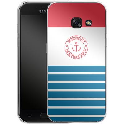 Samsung Galaxy A3 (2017) Silikon Handyhuelle - Hamburger Hafen von caseable Designs