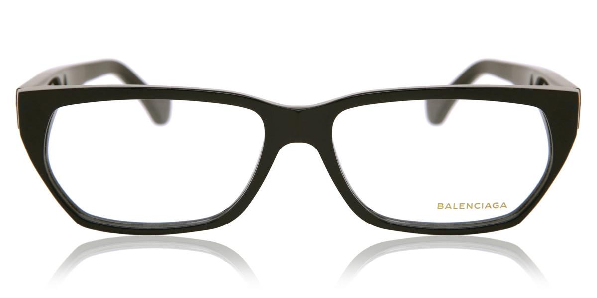 Balenciaga BA5073 001 Women's Glasses Black Size 57 - Free Lenses - HSA/FSA Insurance - Blue Light Block Available