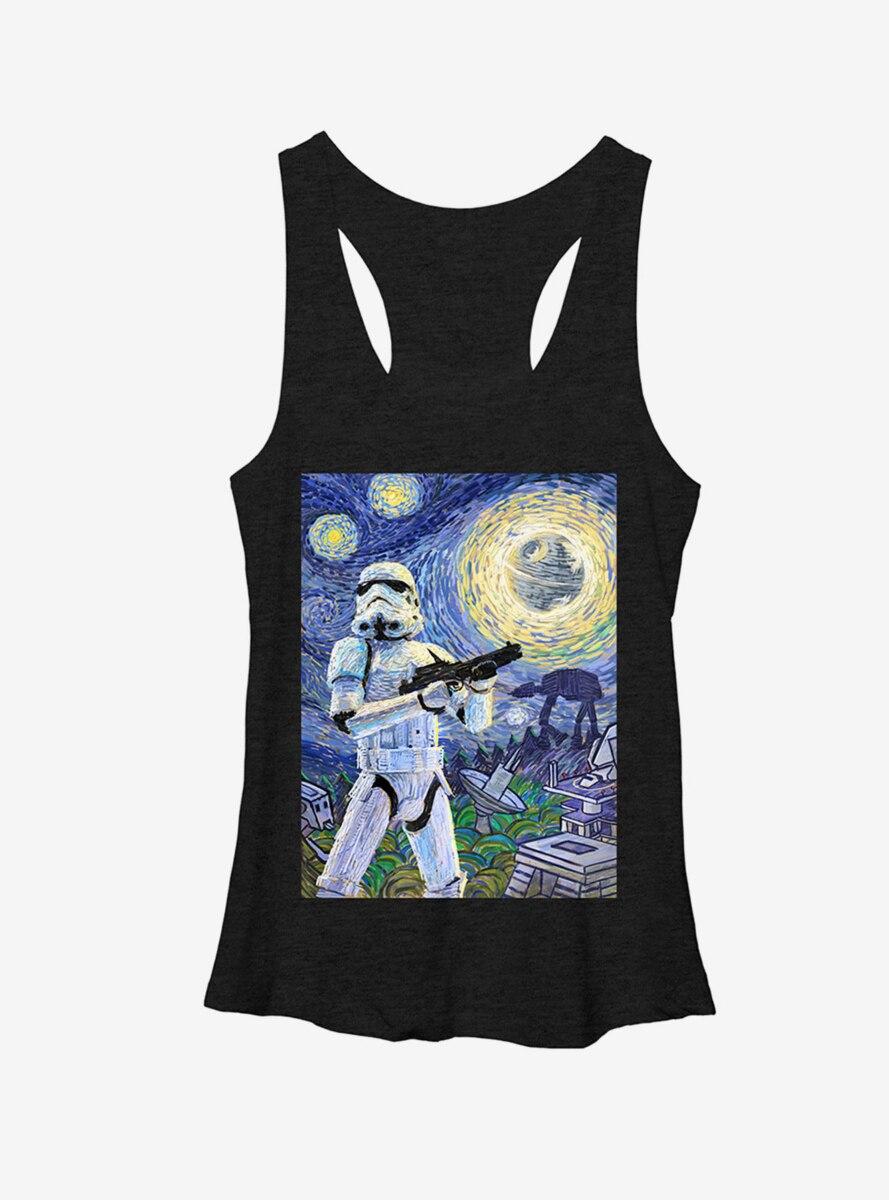 Star Wars Stormtrooper Starry Night Womens Tank