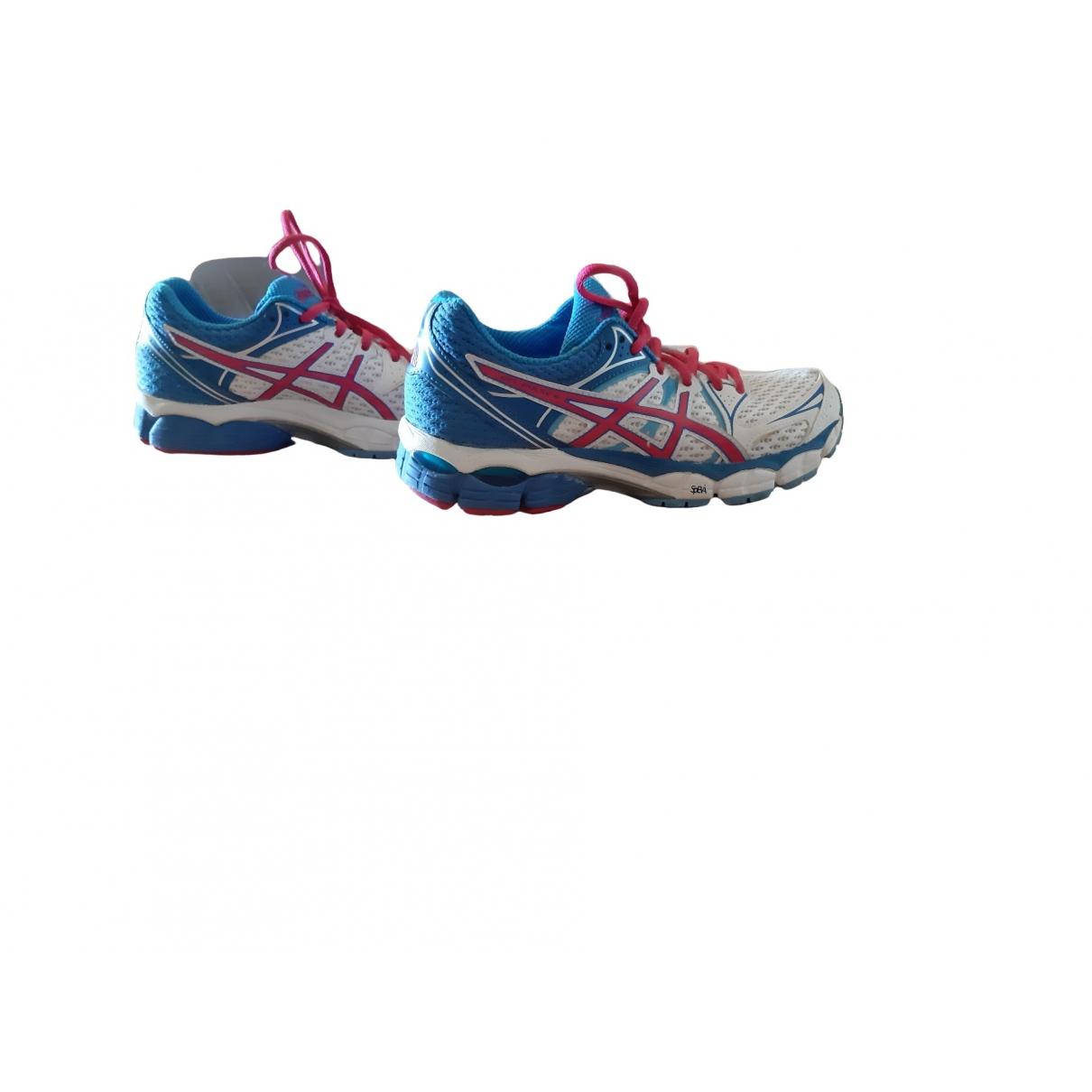 Asics \N Sneakers in  Weiss Leinen