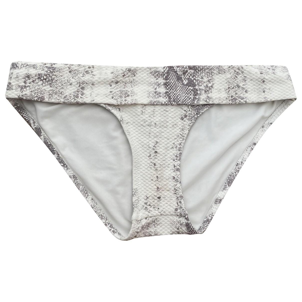 Heidi Klein \N Badeanzug in  Grau Polyester