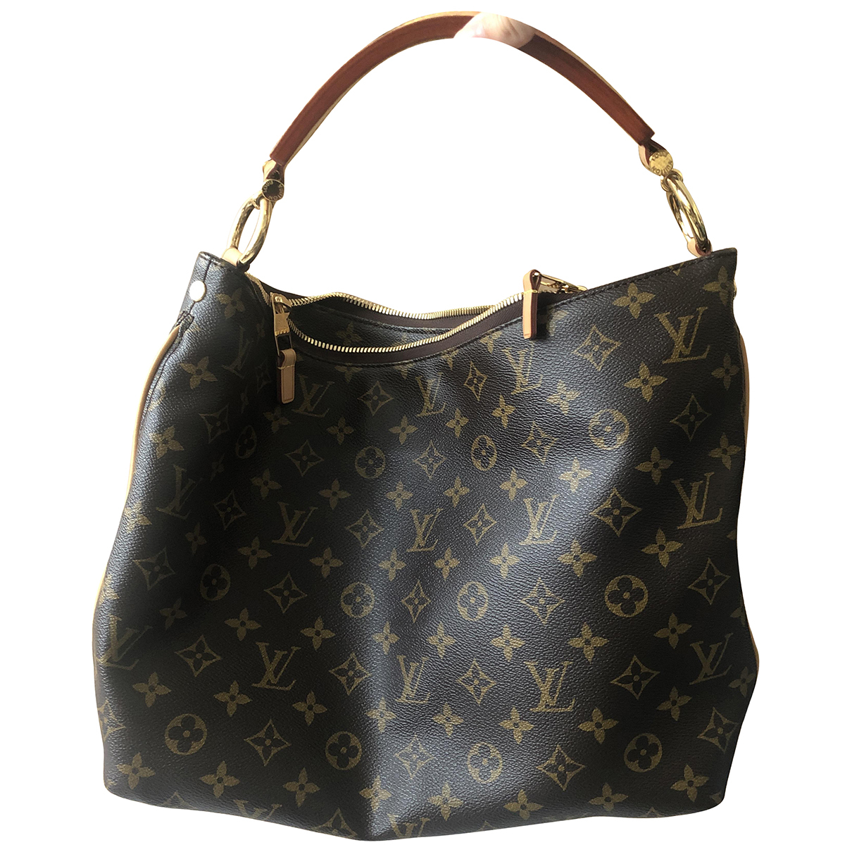 Bolso  Sully de Lona Louis Vuitton