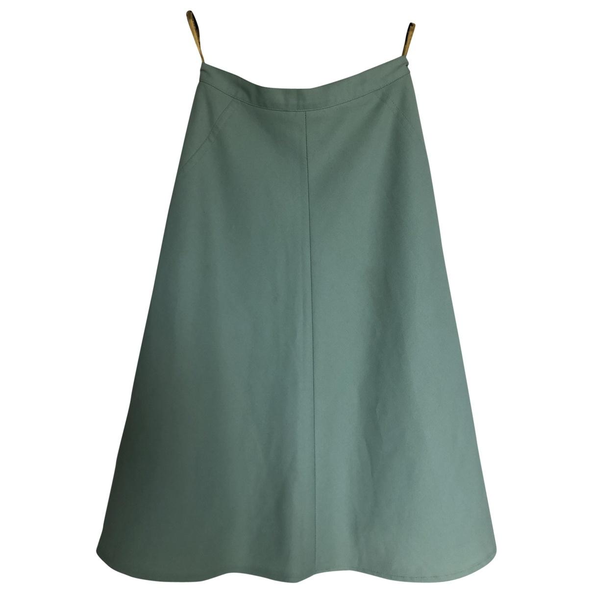 - Jupe   pour femme - vert