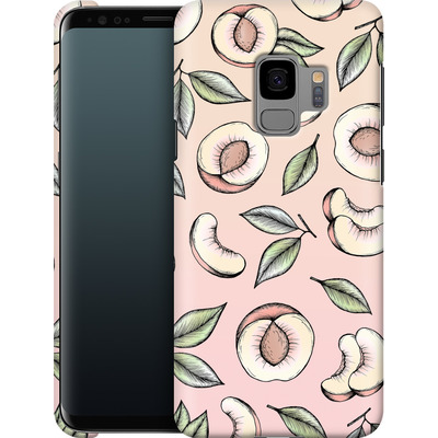 Samsung Galaxy S9 Smartphone Huelle - Peach Please von Barlena