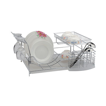 Better Chef 22-inch Dish Rack, One Size , Silver