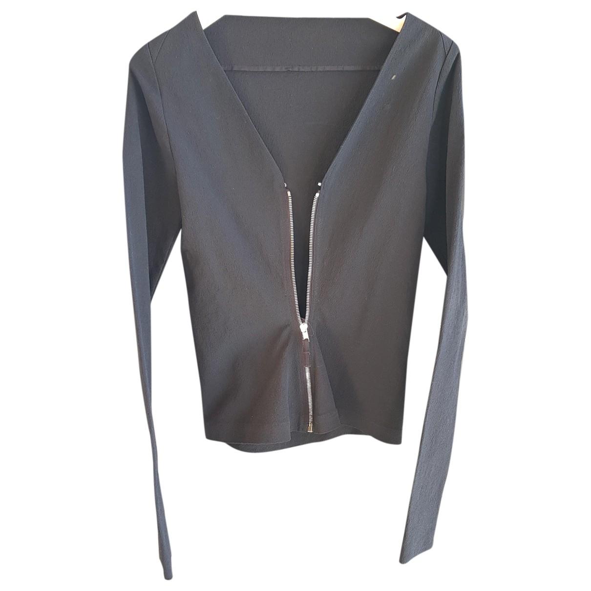 Rick Owens \N Black Cotton jacket for Women 42 IT