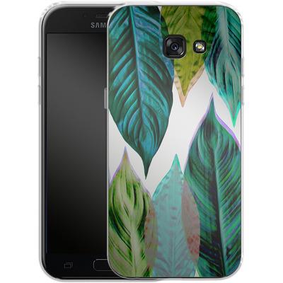 Samsung Galaxy A5 (2017) Silikon Handyhuelle - Green Leaves von Mareike Bohmer