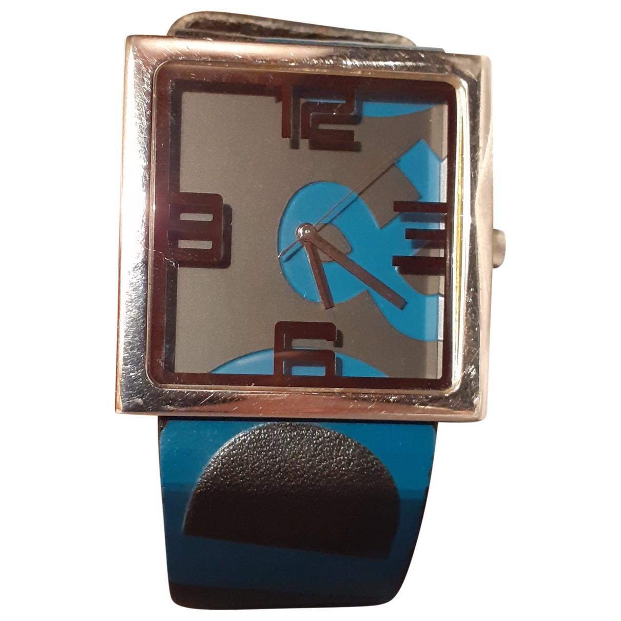 Dolce & Gabbana \N Uhr in  Blau Stahl