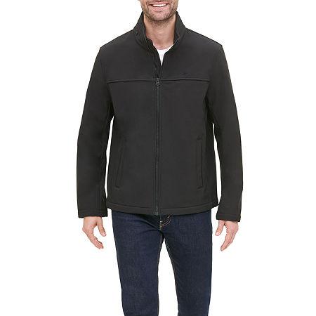 Dockers Lightweight Softshell Jacket, Medium , Black