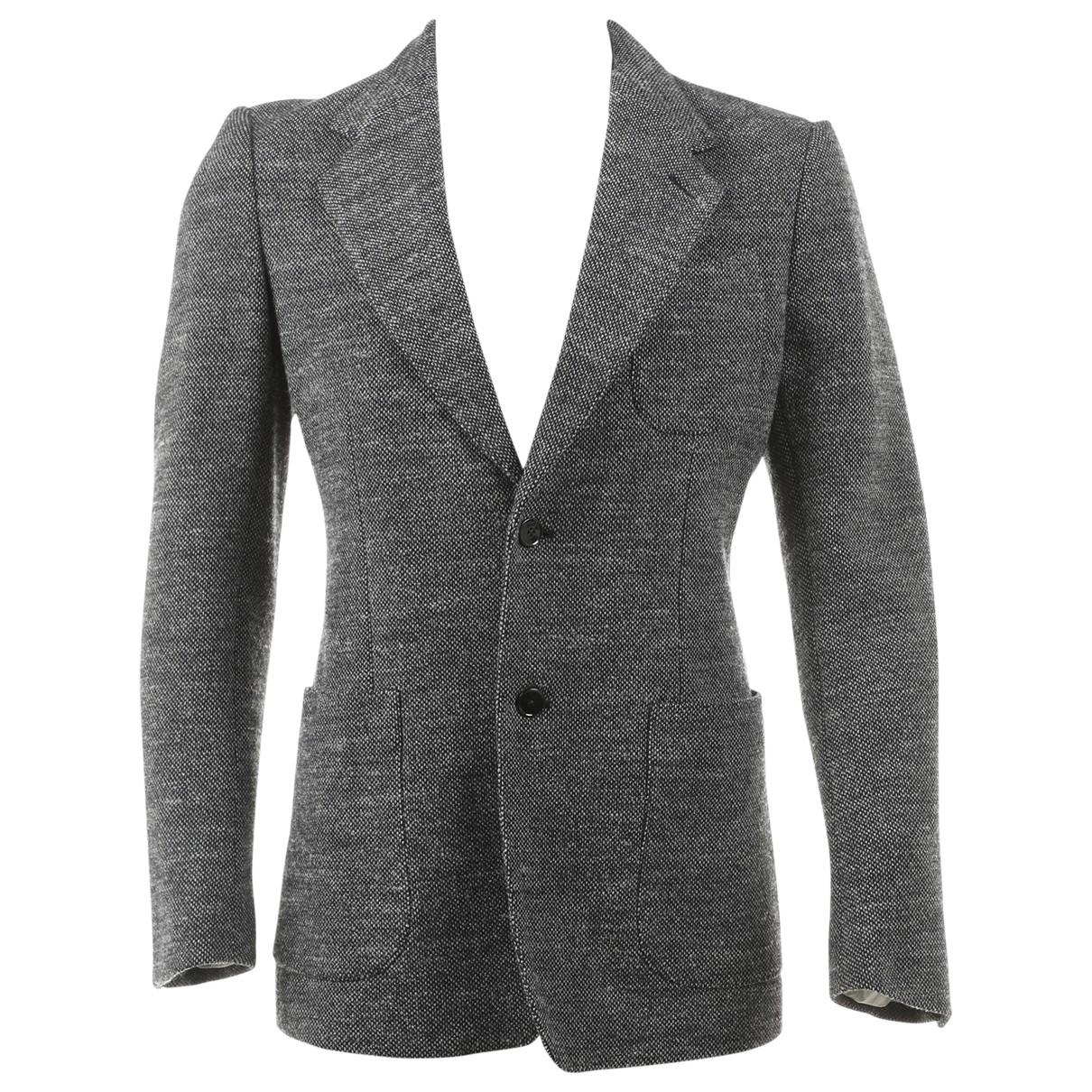 Dolce & Gabbana - Vestes.Blousons   pour homme en laine - gris