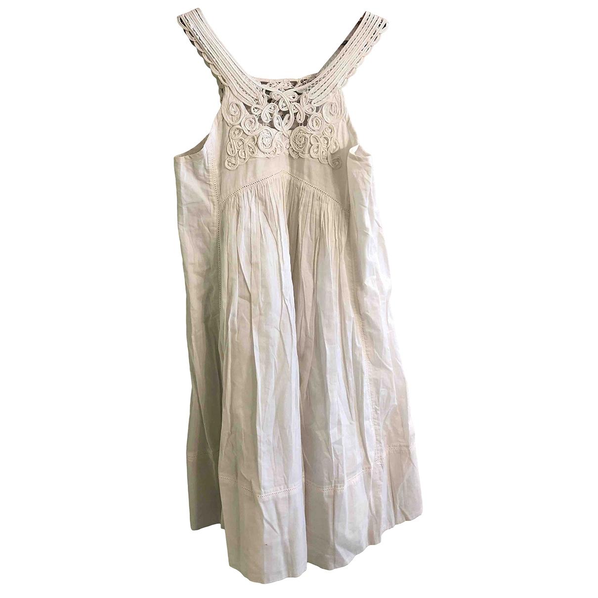 Stella Mccartney - Robe    pour enfant en coton - blanc