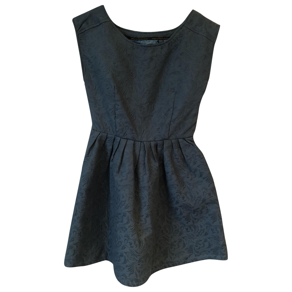 Non Signé / Unsigned \N Green Cotton dress for Women 36 FR