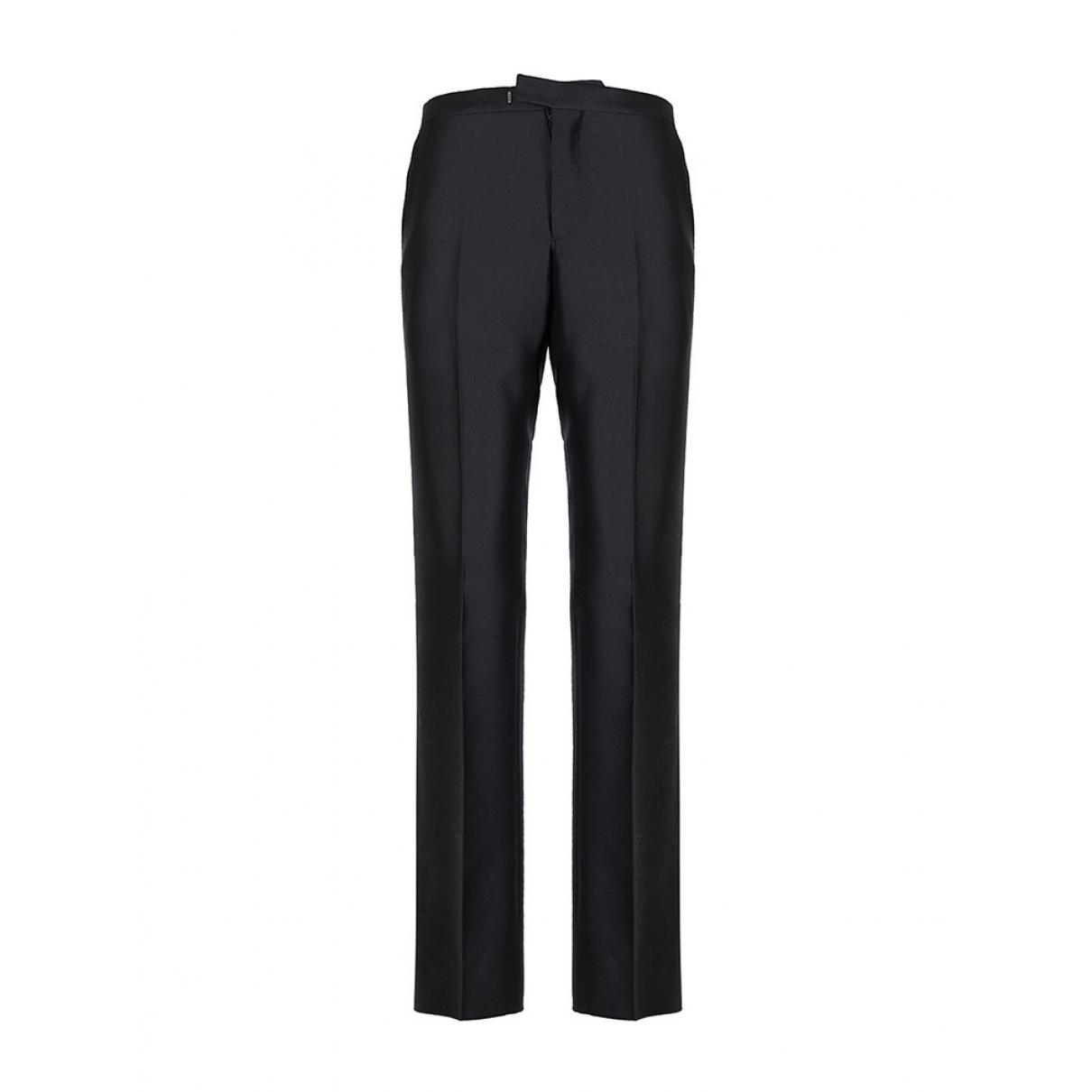 Gucci \N Black Wool Trousers for Men 52 IT