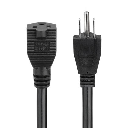 16AWG Power Extension Cord Cable, SJT 16/3C 13A/125V - 15Ft - PrimeCables®