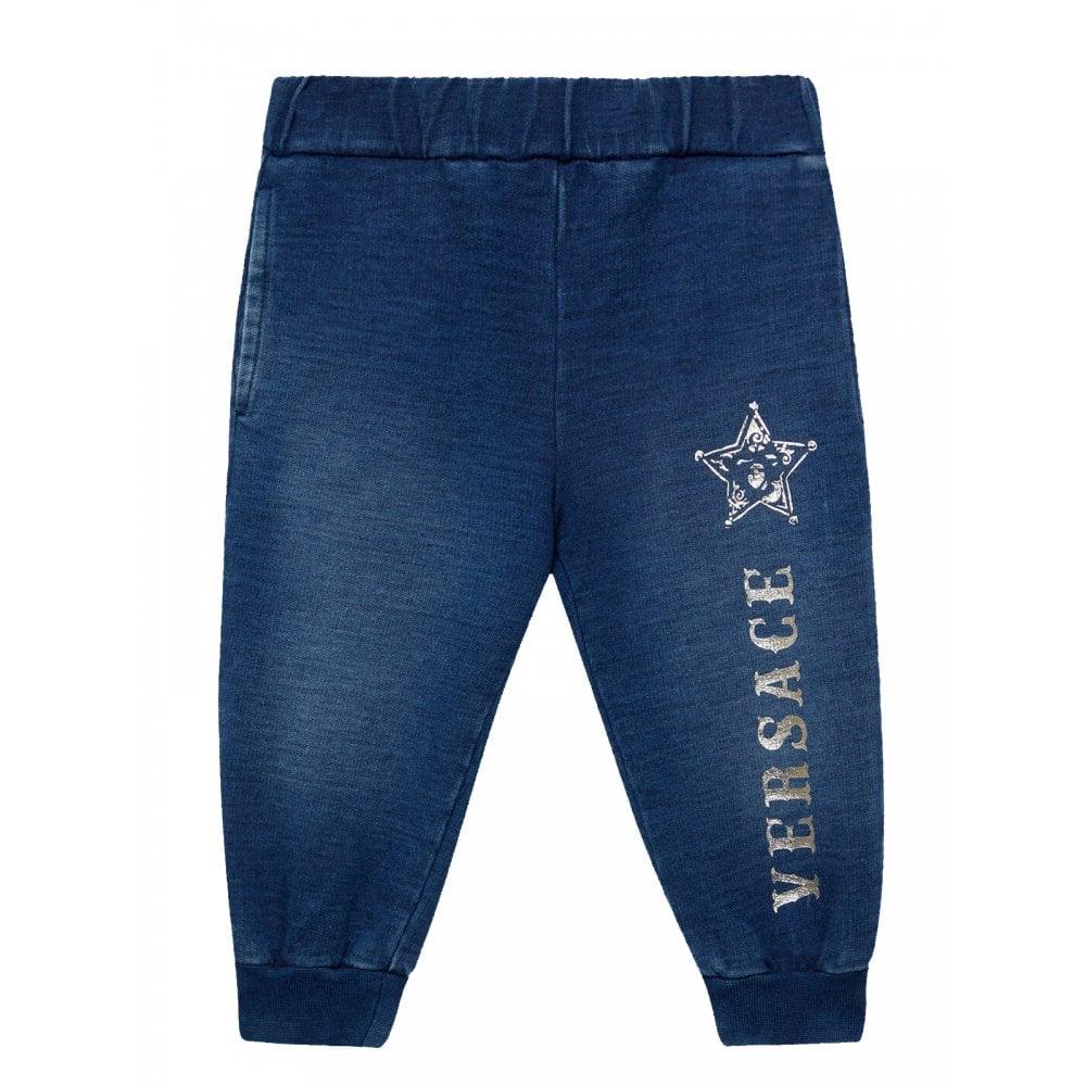 Versace Bb Joggers Size: 36 MONTHS, Colour: BLUE