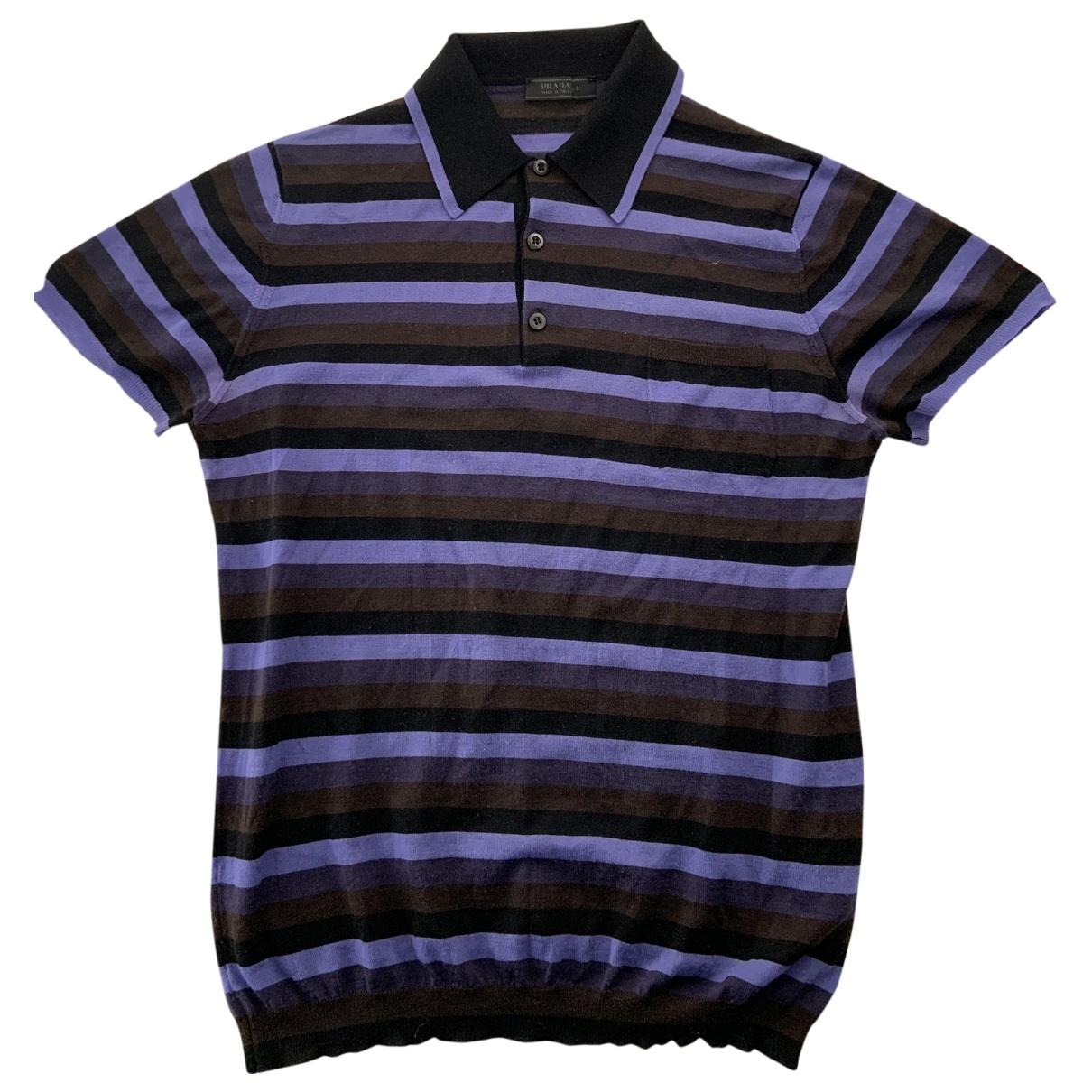 Prada - Polos   pour homme en autre - violet
