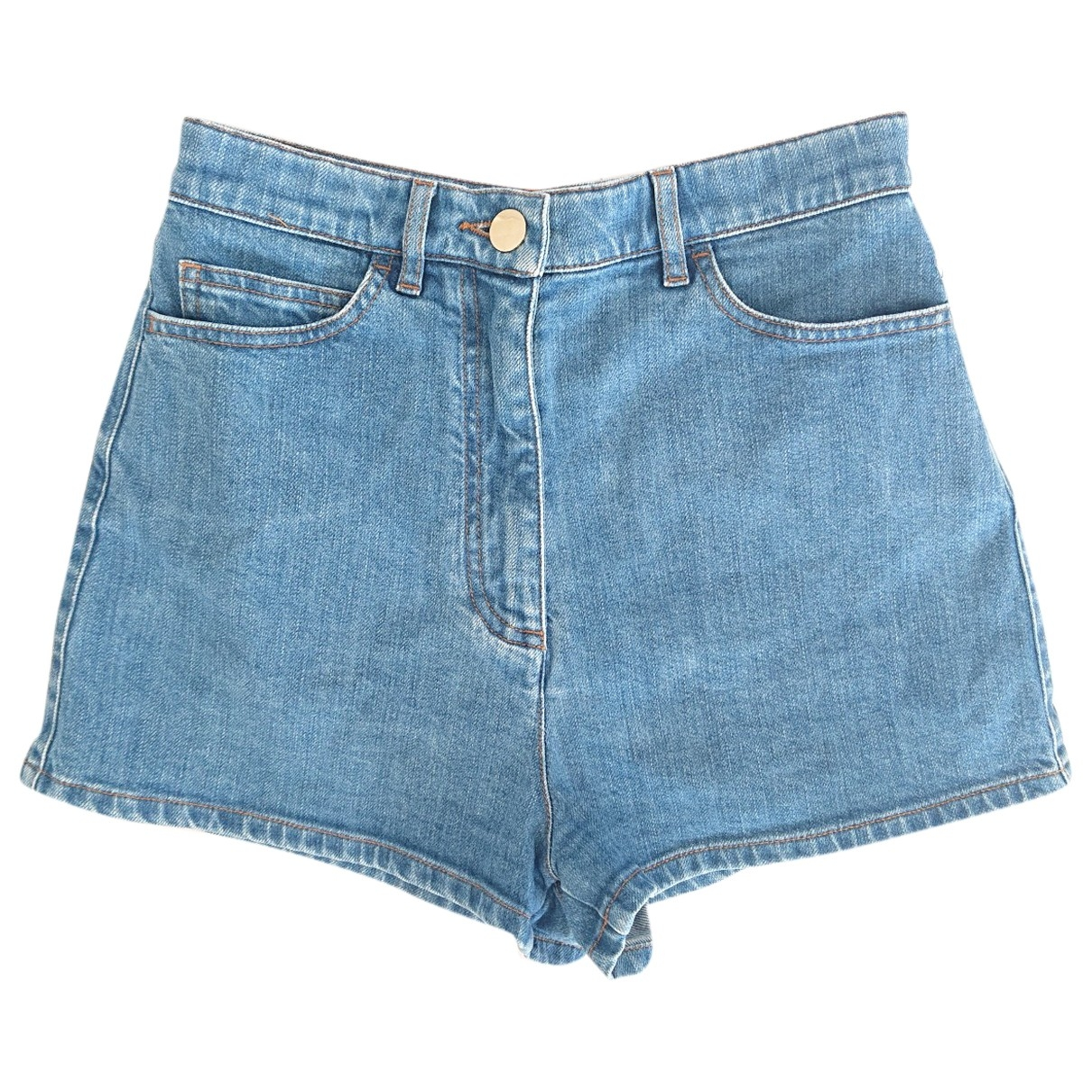 Valentino Garavani \N Shorts in  Blau Denim - Jeans