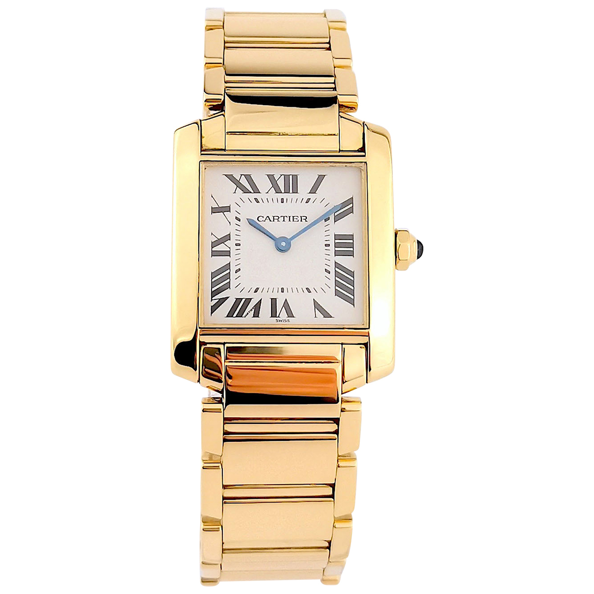 Cartier Tank Française Gold Yellow gold watch for Women N