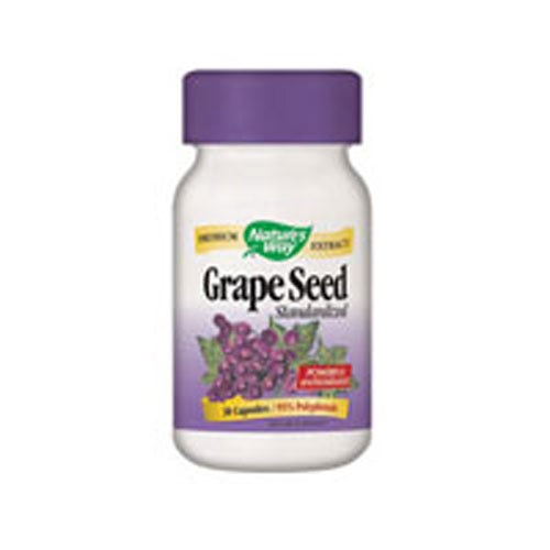 Grape Seed Standardized Extract 60 Vegicaps by Nature's Way