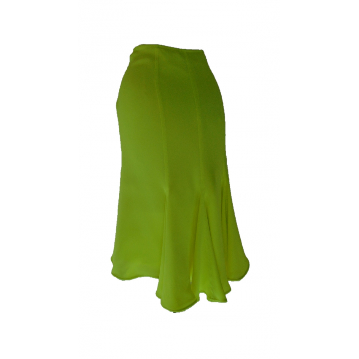 Versace \N Green Silk skirt for Women 40 IT